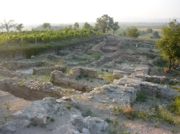 Tauresium, Macedonia, birthplace of Justinian