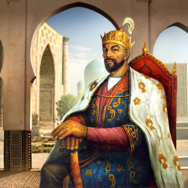 Timur (Tamerlane) Mongol ruler of Samarkand (1369-1405)
