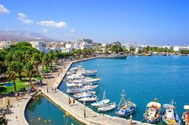 City in the island of Kos, Greece