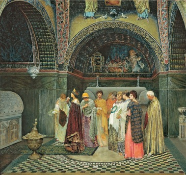 Empress Verina and her attendants