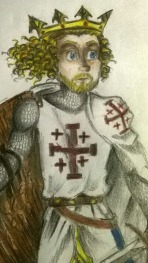 Godfrey de Bouillon, 1st Crusade leader and Ruler of Jerusalem (1099-1100)