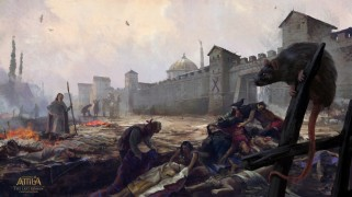 The Plague of Justinian, 542