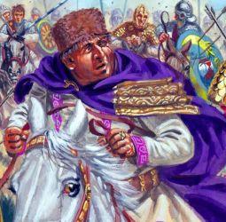 Emperor Valens (r. 364-378), brother of Valentinian I