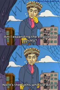 Meme of Justinian I's reconquests