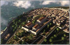 Ancient Greek settlement of Byzantion (Byzantium)