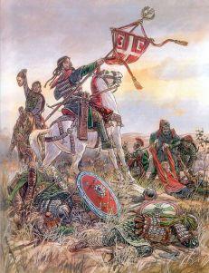 Defeat of the Byzantines at Manzikert, 1071