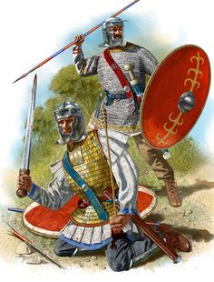 New units of the 3rd century army (Comitatenses)