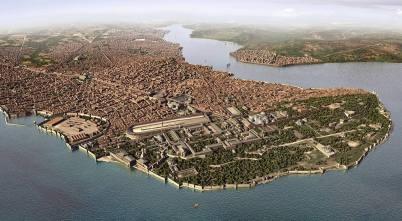 Constantinople, Caput Mundi of the new Roman World