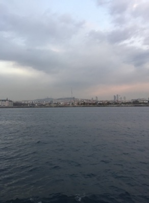 The Asian side of Constantinople (Scutari and Chalcedon) from the Sea of Marmara
