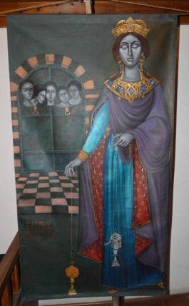 Empress Theophano, wife of Romanos II and later Nikephoros II