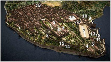 Byzantium settlement in Septimius Severus' time