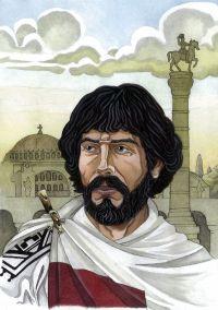Byzantine general Flavius Belisarius (500-565)