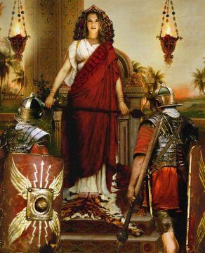 The breakaway Roman Palmyrene Empire under Zenobia
