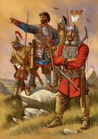 Belisarius' Byzantine army