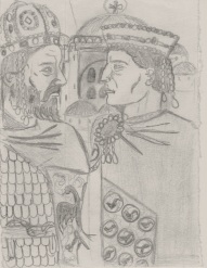 Constantine XI and Justinian I the Great