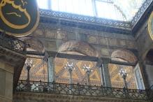 Upper deck of the Hagia Sophia