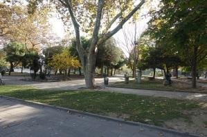Sarachane Park, former site of Byzantine mansions