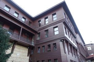 Wooden house at the Patriarchate complex