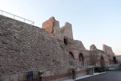 Walls of Theodosius II at Tekfur Palace