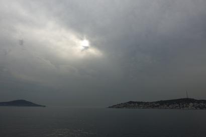 The Princes' Islands in the Sea of Marmara