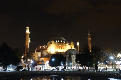 Hagia Sophia from its square (formerly the Augustaion)