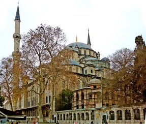 Fatih Mosque (formerly the Church of the Holy Apostles)