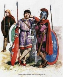 Goths in the Roman army (Foederati)