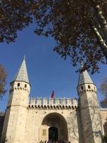15th century Gate of Topkapi Palace