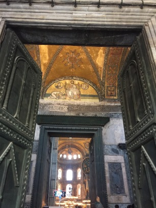 Hagia Sophia imperial entrance