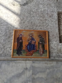 Original depiction of the Deesis Mosaic
