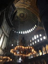 Interior of the large main dome