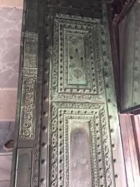 2nd century exit door brought in by Emperor Theophilos