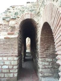 Tekfur Palace built along the walls