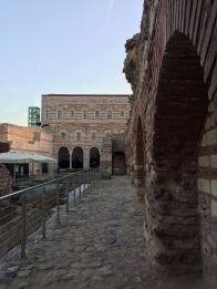 Intact structure of the Palace of the Porphyrogennetos