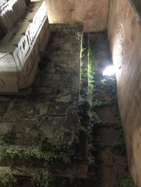 Original ground level of the Hippodrome below