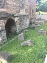 Ruins beside the Hagia Eirene