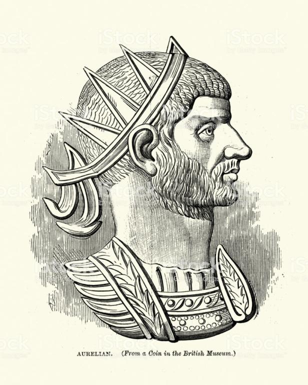 Roman Emperor Aurelian (r. 270-275)
