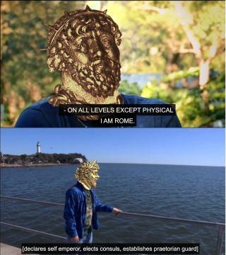 Meme of the breakaway Gallic Empire of Postumus (260-274)