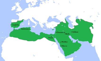 The Arab Umayyad Caliphate (661-750)