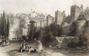 Theodosian Walls in Ottoman times