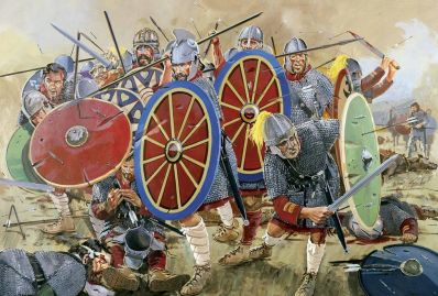 Byzantine-Roman army at the Battle of Adrianopolis, 378