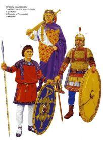 Excubitors (Byzantine palace guard unit), mostly Isaurian recruits