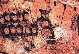 Rus army attack Constantinople, 860