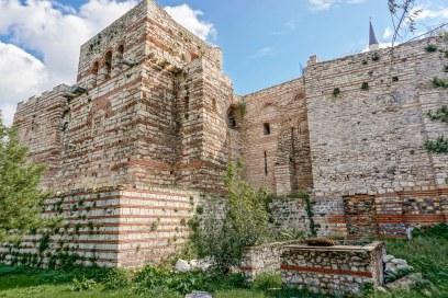 Walls of Blachernae Palace, Constantinople