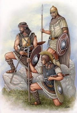 Ancient Iberian people (natives of Spain before Roman occupation)