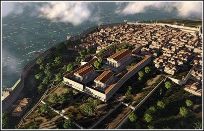 Pre-Constantinople Byzantium Acropolis