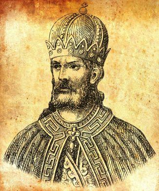 Emperor Staurakios (r. 811), son of Nikephoros I