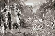 Bulgarians defeat and decapitate Nikephoros I, 811