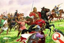 Goth army led by Fritigern in 378