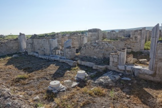 Remains of Byzantine Amorion